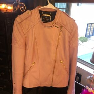 Juicy Couture leather biker jacket